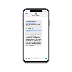 text invite
