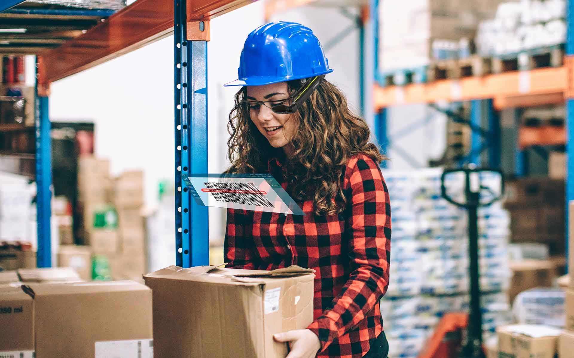 warehouse logistics barcode scanning ahnds free