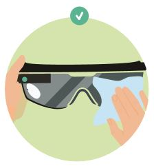 4 things you should do to sanitize your AR devices - and 4 things you should avoid doing