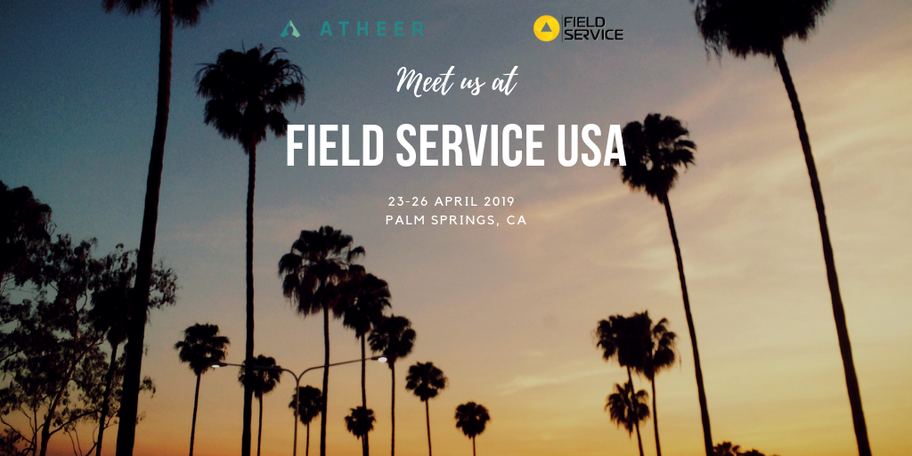 Field Service USA is only days away - Part 4