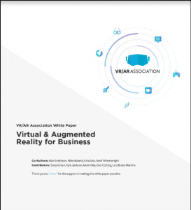 Get the new Enterprise VR/AR White Paper and see how AR can make a difference in your business