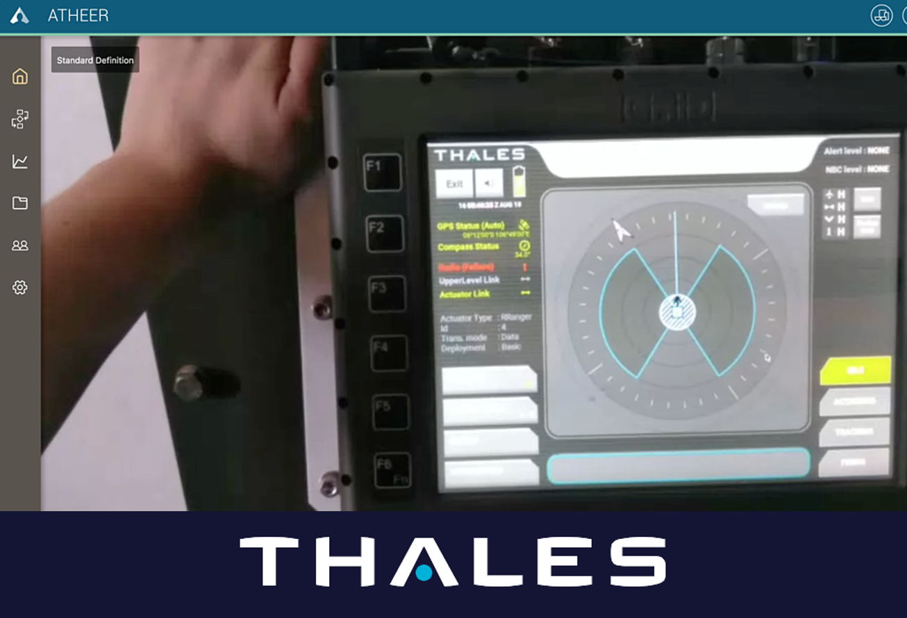 AR Supports Defence Service Innovation at Thales