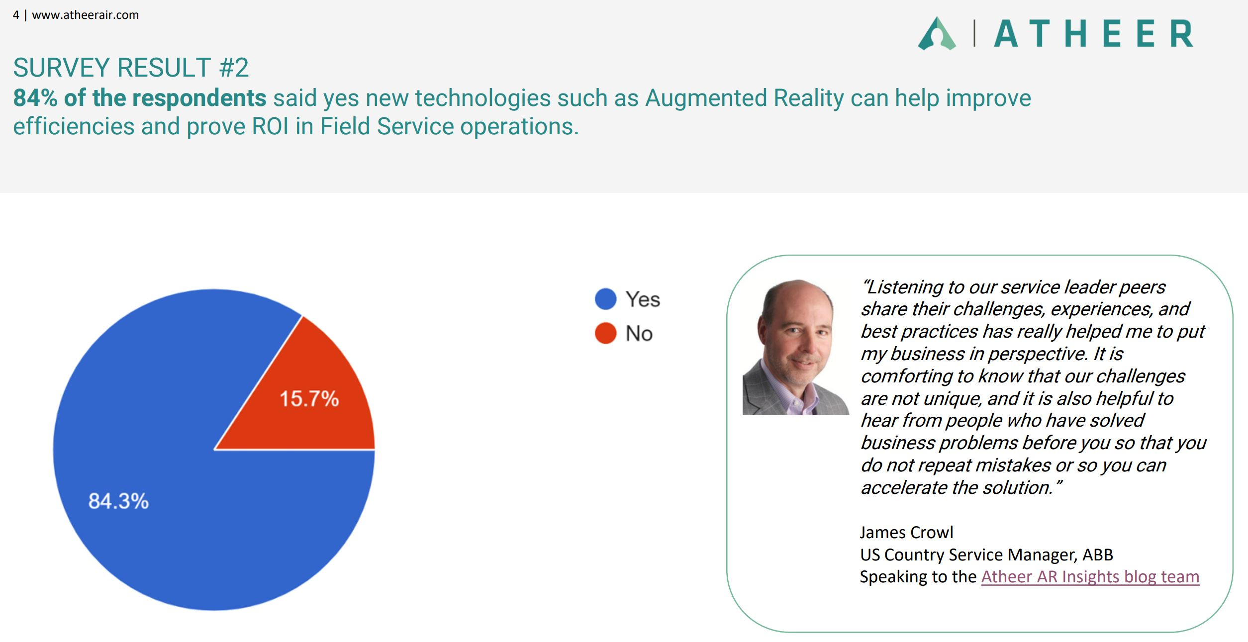 AR Insights from the Field Service Sector